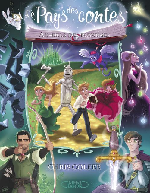 Couverture du tome 4 de la saga Le Pays des contes