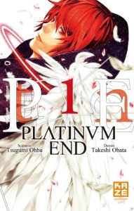 Couverture du manga Platinum end, tome 1