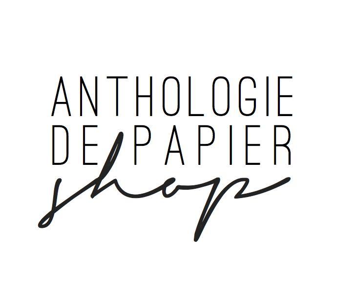 anthologie de papier