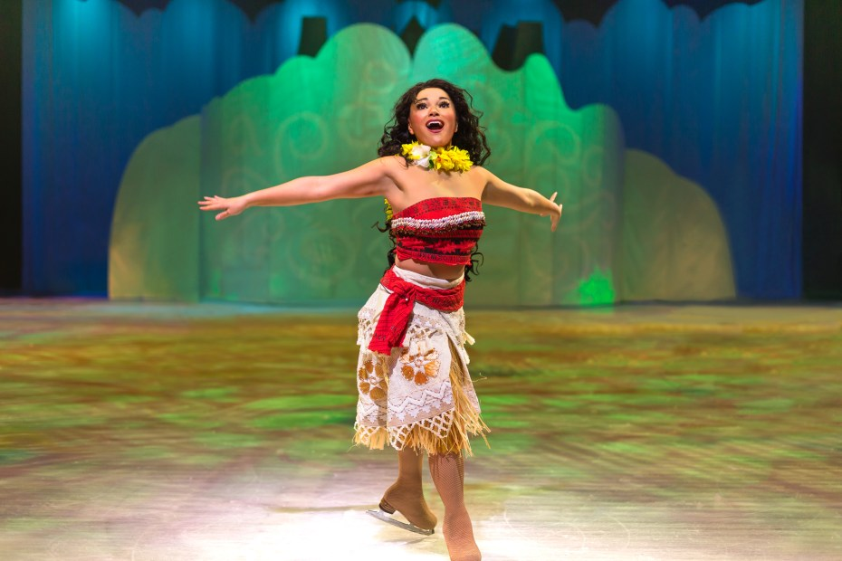 Vaiana Disney on Ice