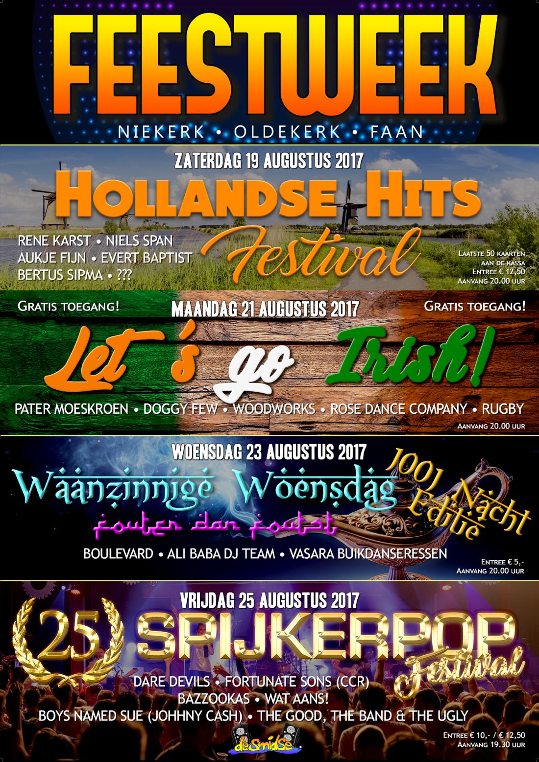 Feestweek Poster 2017