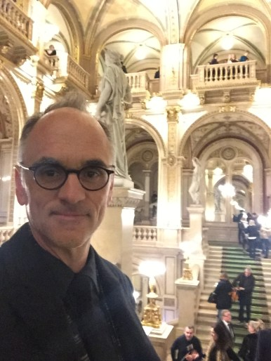 Maestro Neely at the Vienna State Opera