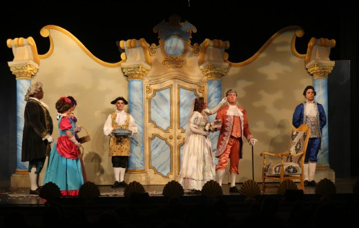 Cinderella sings about her dreams coming true as she marries the prince. The Des Moines Metro Opera's OPERA Iowa educational program presented Rossini's Cinderella Feb. 28 at Indianola High School.