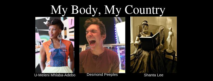 My Body My Country: A Poetry Reading
