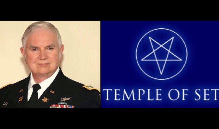 C.V.: Tte. Cnel. de Inteligencia Militar Michael Aquino (Subversión satánica de los militares de los EE. UU.)