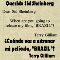 """""""Brazil"""" (1984+1) Sátira subversiva de culto (Película en Esp.)"""