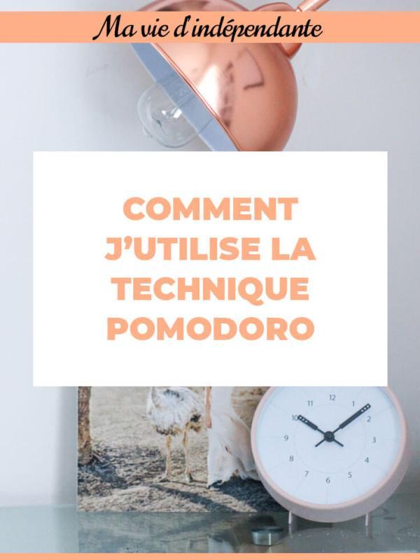 Comment j'utilise la technique Pomodoro - Des Mots et Du Thé