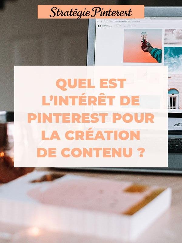 Des Mots et Du Thé : L'intérêt de Pinterest pour la création de contenu