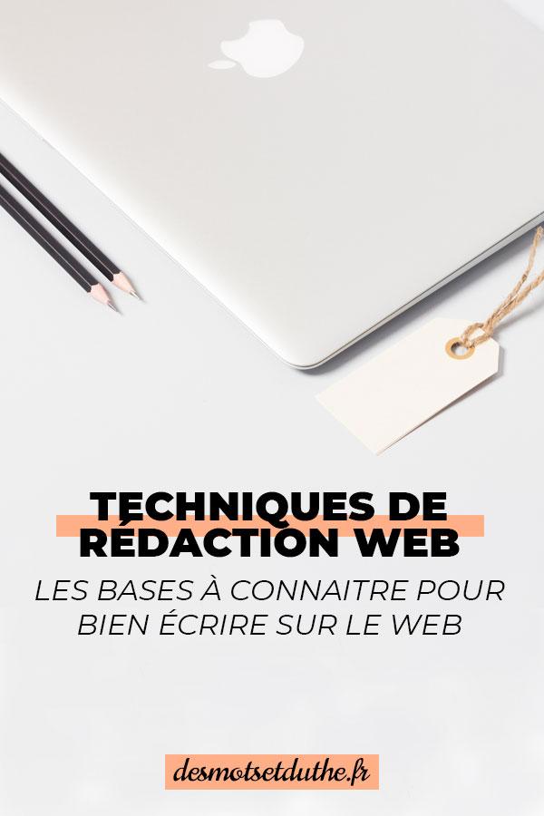 f267aa779ab Techniques de rédaction web   les bases à connaitre