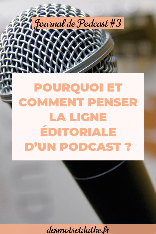 Créer un podcast : définir la ligne éditoriale d'un podcast