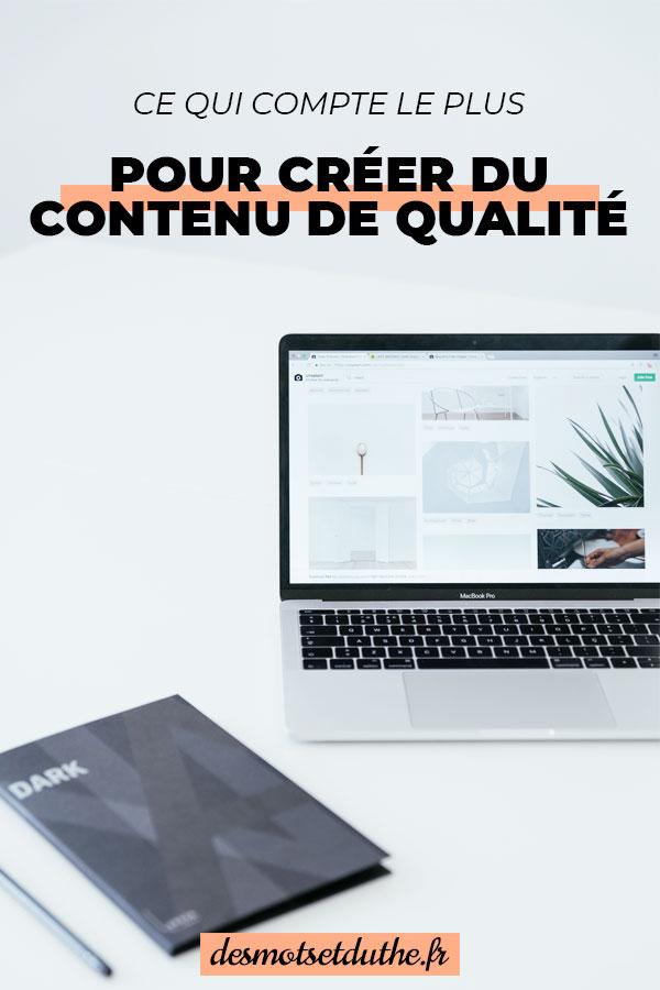 Ce qui compte le plus pour créer des articles de blog de qualité