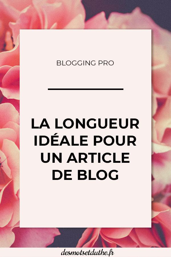 La longueur idéale pour un article de blog