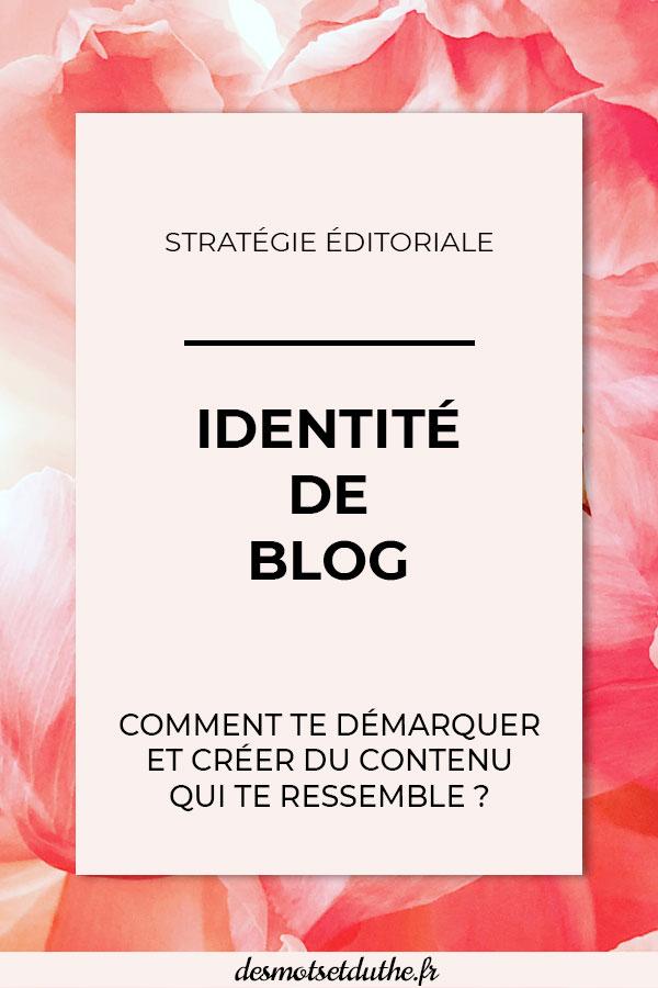 Identité de blog : comment te démarquer et créer du contenu qui te ressemble ?