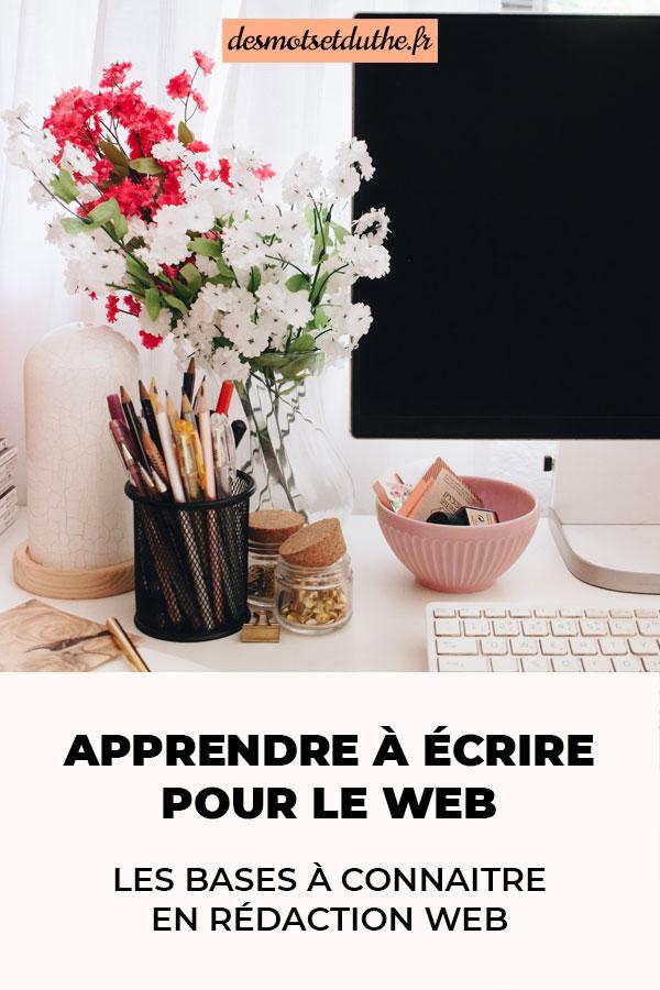 Apprendre à écrire pour le web : les bases à connaitre en techniques de rédaction web.