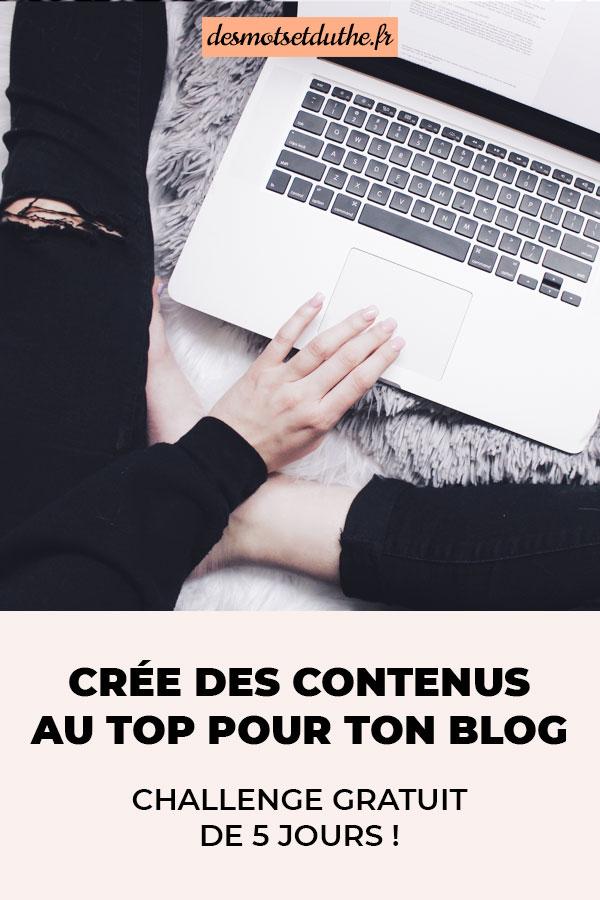 Crée des articles de qualité pour ton blog.
