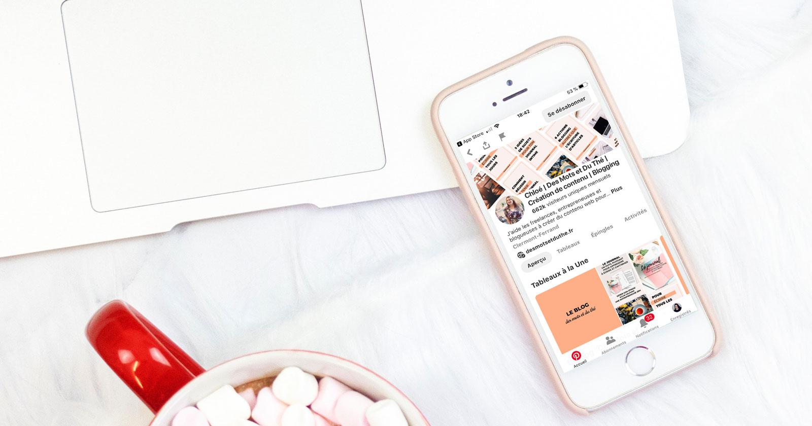 Utiliser Tailwind pour Pinterest