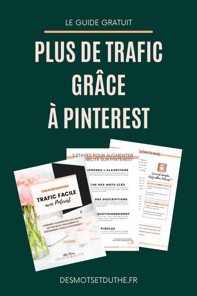 Plus de trafic de blog avec Pinterest : le guide pour augmenter sa visibilité