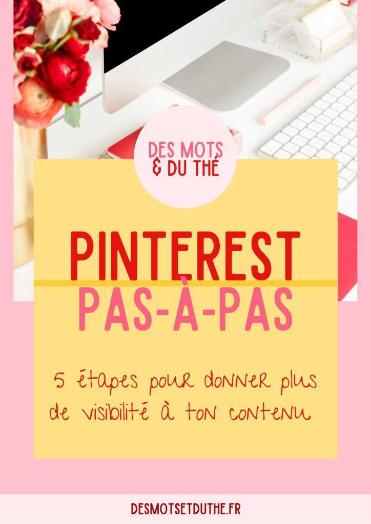 Guide Pinterest pas-à-pas