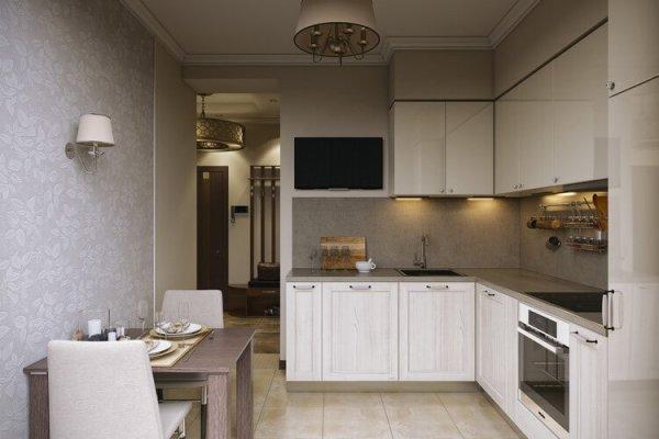 Дизайн кухни 10 кв м - фото новинки 2019 года