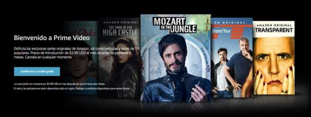 Amazon Prime Video - Empieza tu prueba gratis