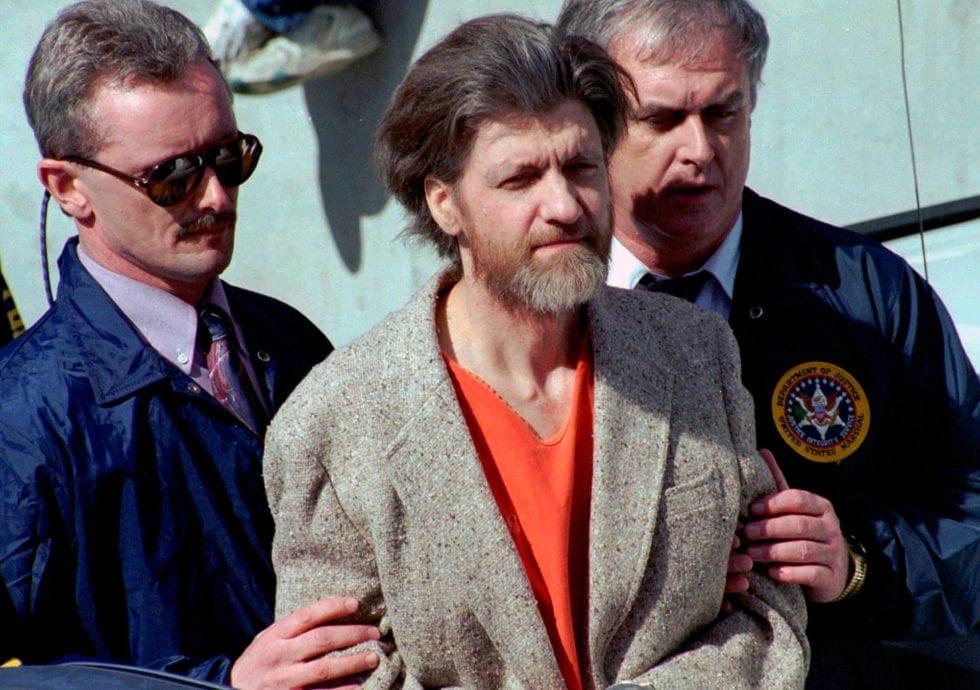 Unabomber es una creación del MK ULTRA manipulando la mente de Theodore Kaczynski