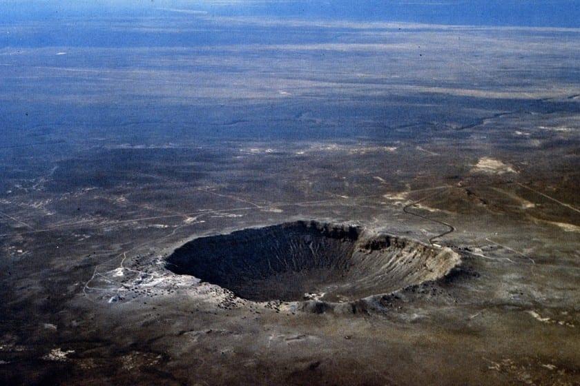 El crater de meteorito mas antiguo del mundo no es lo que parece