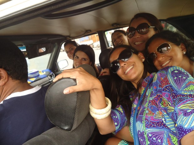 Taxi em Mrrakech