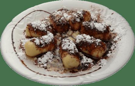 Poppy Seed Dumplings – Créditos: http://www.pizzapuborea.sk/uvod/jedalny-listok/dezerty/