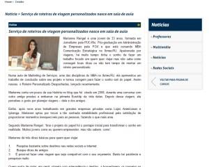 Site Ibmec empreendedorismo