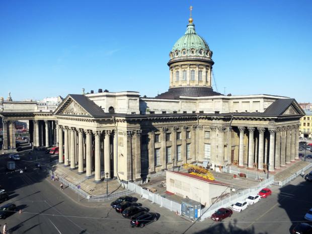 Basilica de Kazan  em São Petersburgo