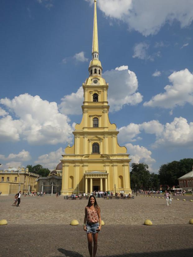 Fortaleza de Pedro e Paulo em São Petersburgo