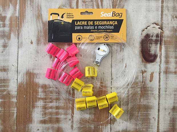 Lacres Seal Bag- Produtos para viagem