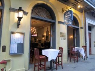 Bistrô francês café Soule Nova orleans