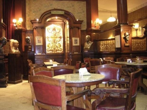 Café Tortoni arquitetura Buenos Aires