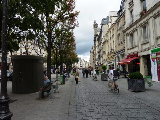 Marais melhor bairro de Paris hostel Mije