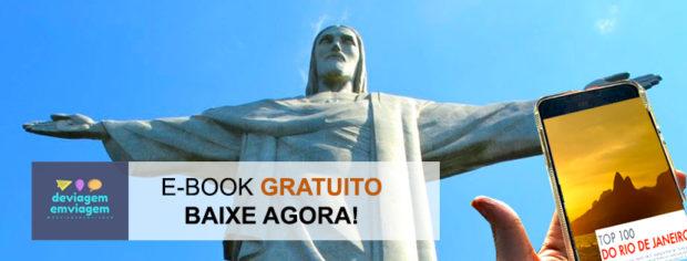E-book Gratuito com dicas de atividades ao ar livre no Rio de Janeiro
