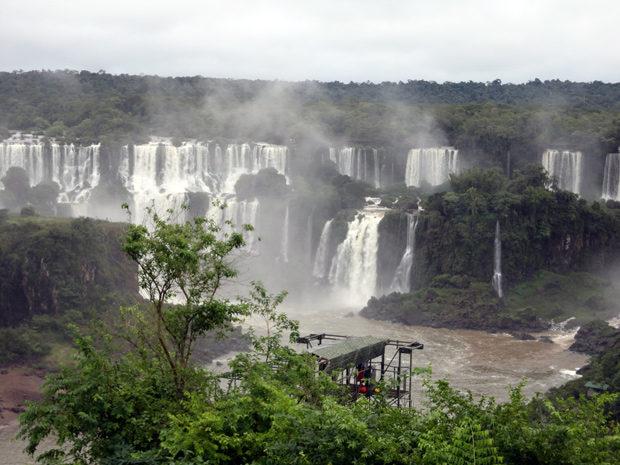 Cataratas do Iguaçu em Foz do Iguaçu