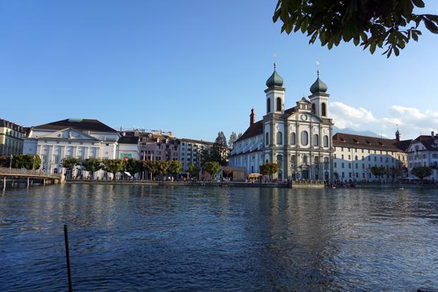 Igreja dos Jesuitas em Lucerna - Suiça