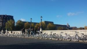 Passeio de bicicleta pelo centro histórico de Paris