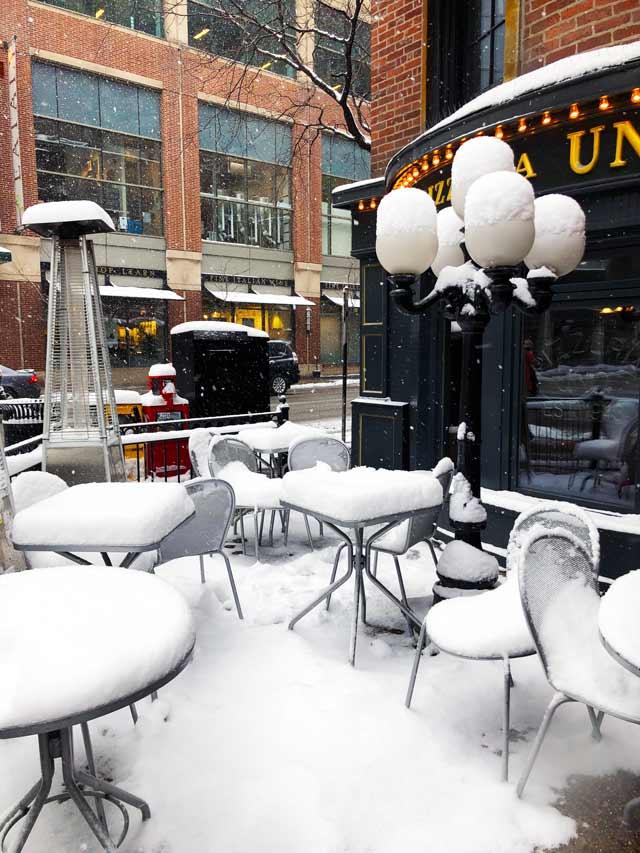 Dicas de Chicago inverno em Chicago neve em Chicago