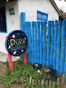 Restaurante em Caraíva Duca