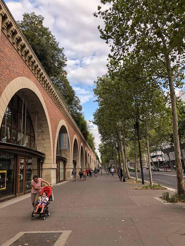 Le Coulée Vert - Lugares diferentes em Paris