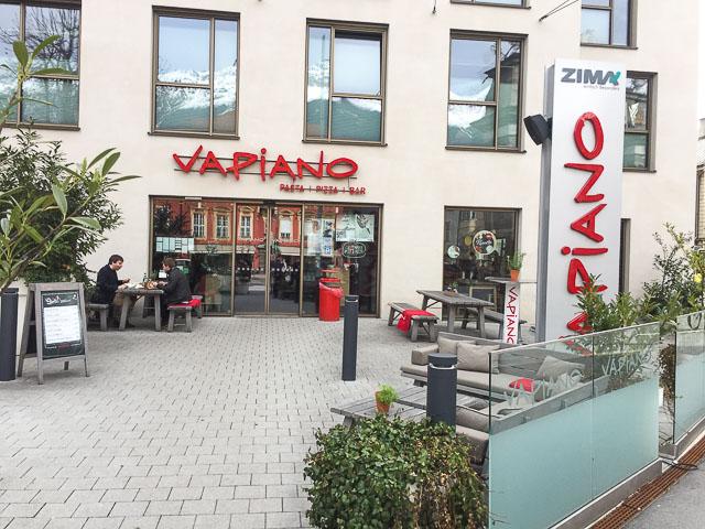 onde comer em innsbruck: restaurante vapiano