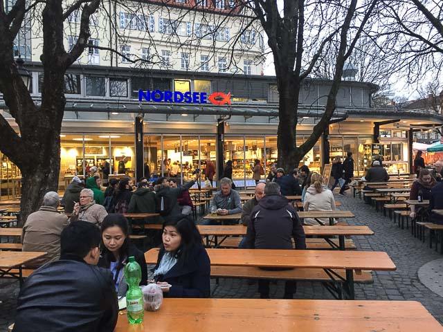 Nordsee onde comer em Munique
