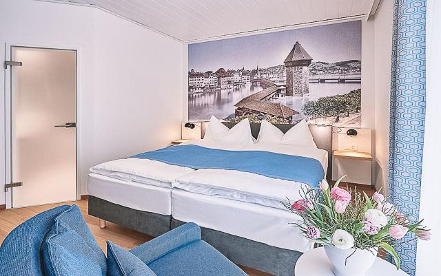 Onde ficar em Lucerna. Central Luzern