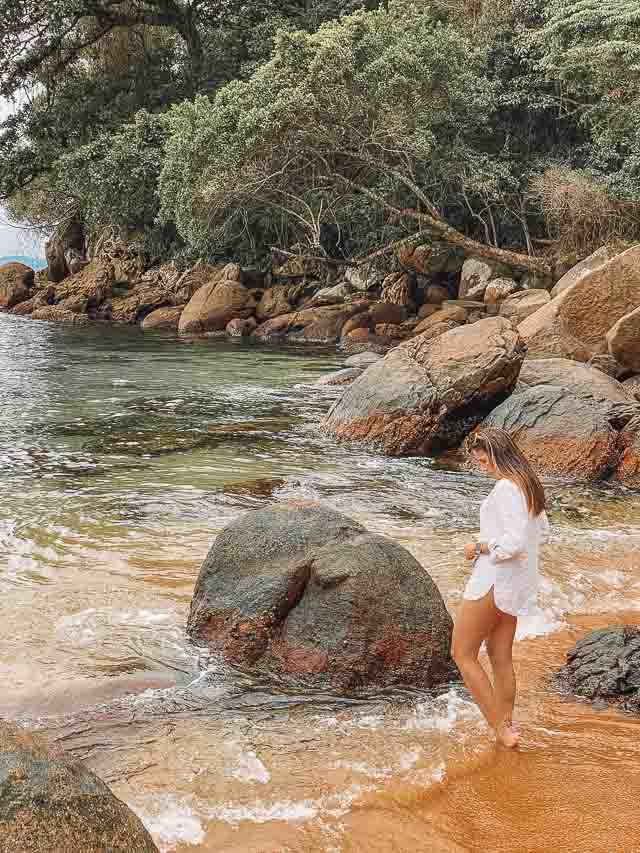 nde Passeio para a gruta de Acaiá Praia Itaguaçu