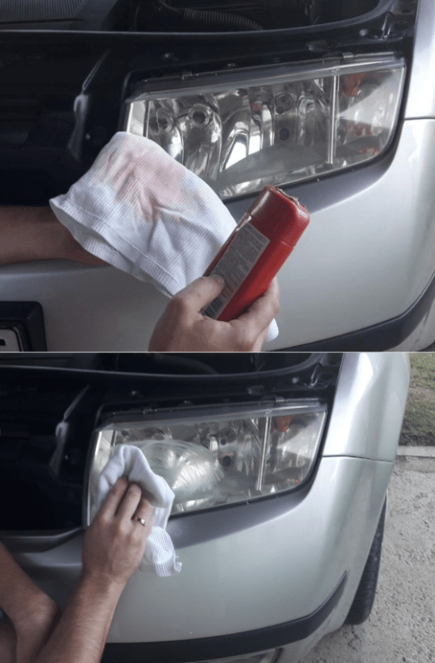 how-to-polish-car-headlights-polishing-with-car-wax