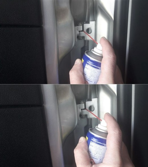 how-to-fix-squeaky-car-door-using-wd-40-on-door-hinge