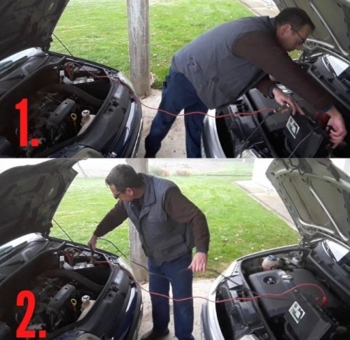how-to-use-jumper-cables-connecting-minus-jumper-cable