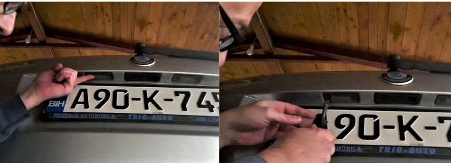 returning-license-plate-light-into-place